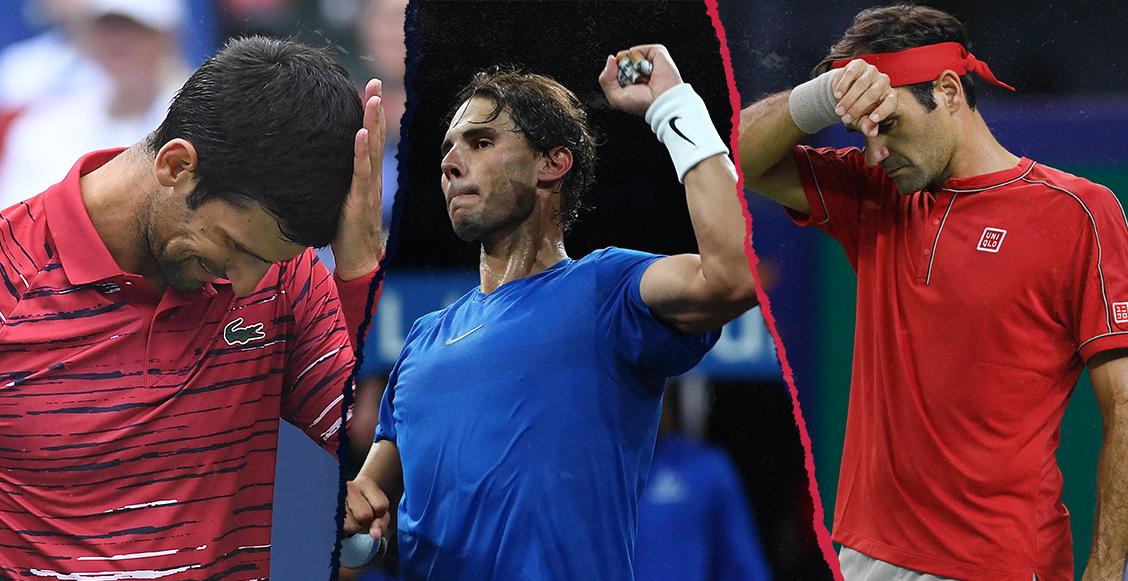 Djokovic y Federer eliminados del Masters de Shanghai; Nadal será el nuevo número 1