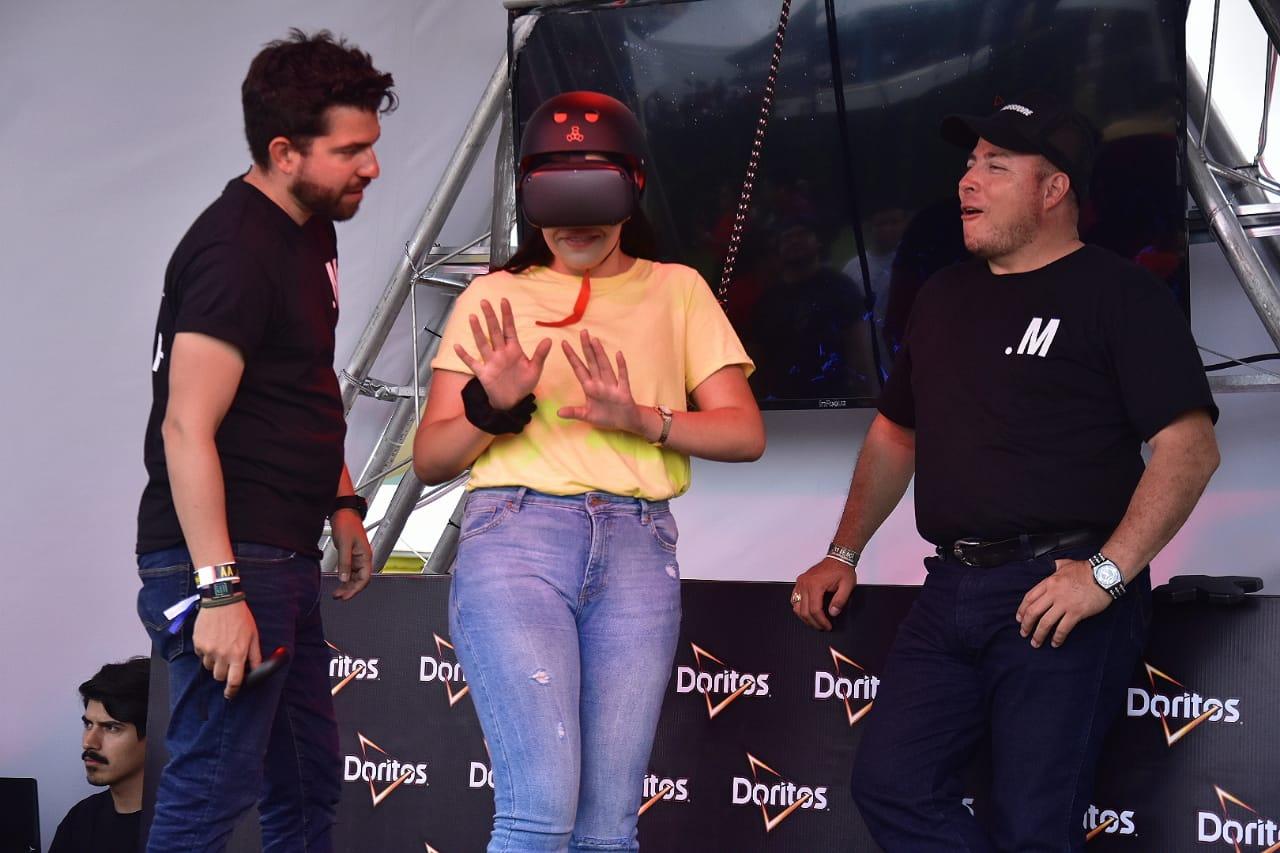 Doritos activacion VR coordenada 2019 02
