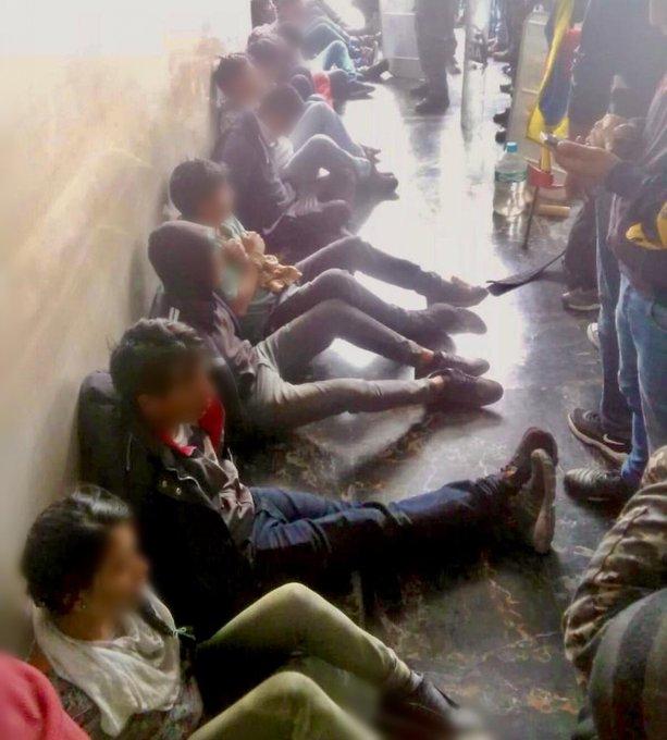 ¡Acusados de terrorismo! Manifestantes detenidos en Ecuador