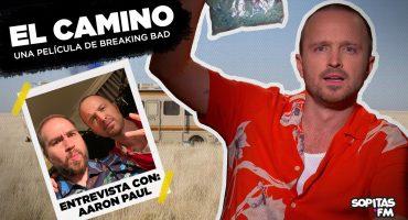 Probé el 'Blue Meth' de Breaking Bad mientras Aaron Paul nos cuenta la historia de Jesse Pinkman y El Camino