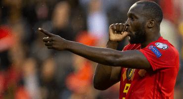Revive el gol histórico de Romelu Lukaku con la Selección de Bélgica