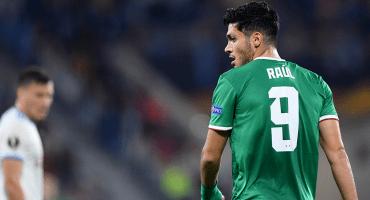 ¡De vuelta! Ve el gol de Raúl Jiménez al Slovan Bratislava en la Europa League