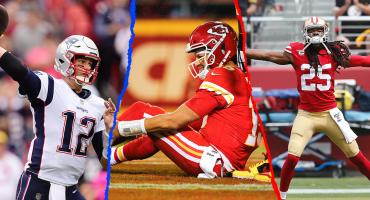 Los 2 invictos, ¿Mahomes lesionado? y el récord de Brady: 7 puntos para resumir la Semana 5 de la NFL