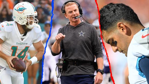 Los dos sin victoria, los coaches en la mira y los Santos del papa: 7 puntos para resumir la Semana 6 de la NFL
