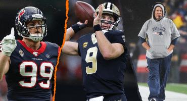 Las 300 de Belichick, adiós J.J. Watt y la nueva defensa de acero : 7 puntos para resumir la Semana 8 de la NFL