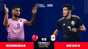 ¿Dónde, cuándo y cómo ver en vivo el Bermudas vs México?
