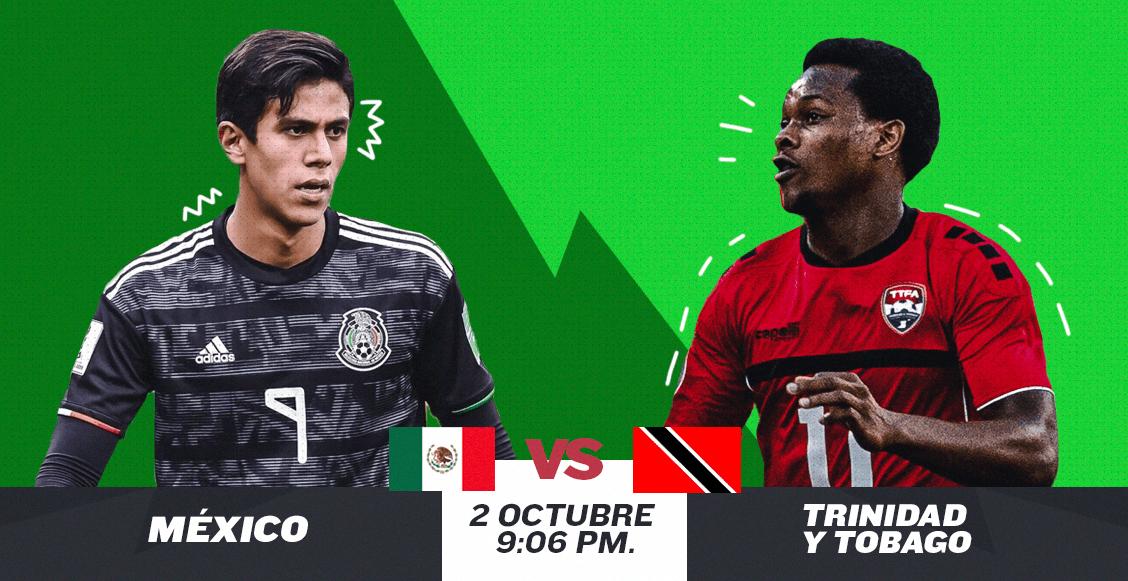 ¿Dónde, cuándo y cómo ver en vivo el México vs Trinidad y Tobago?