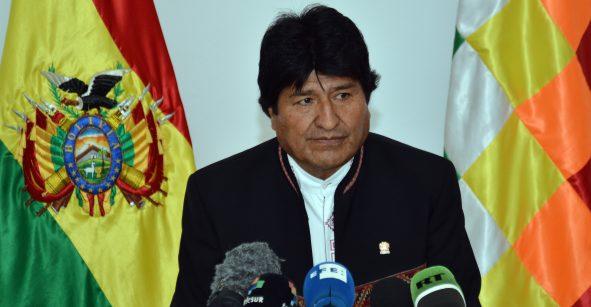 Aventaja Evo Morales elecciones presidenciales en Bolivia pero habría segunda vuelta