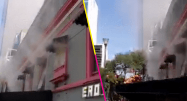 ¡Ojo! Se registra incendio en Zona Rosa CDMX; hay 2 personas intoxicadas