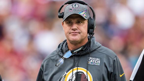 ¡Cayó el primero! Jay Gruden no es más head coach de los Redskins