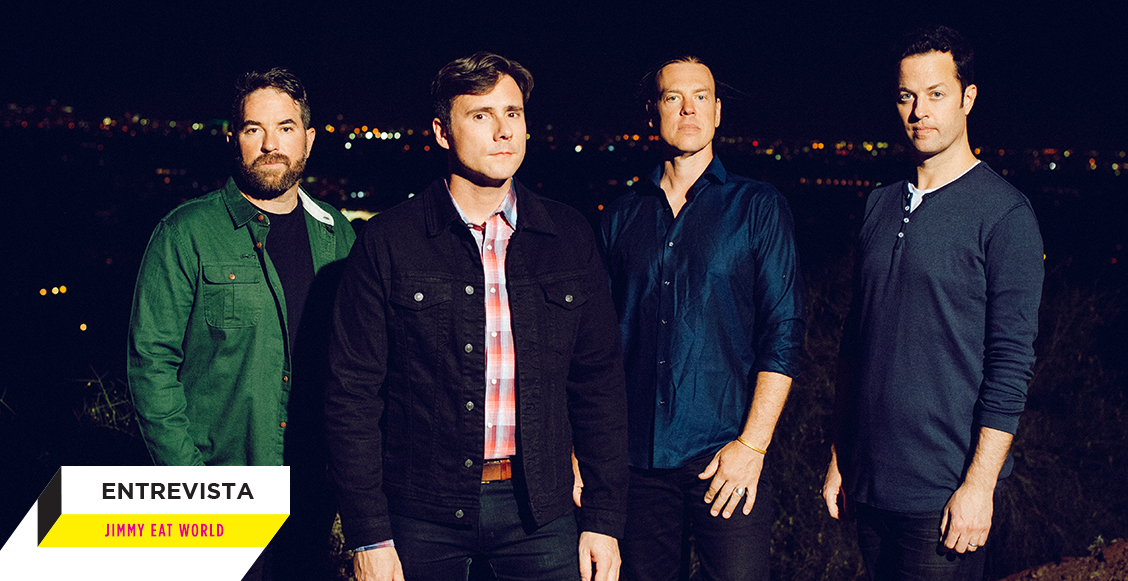'Surviving' es un disco sobre las batallas personales: Una entrevista con Jimmy Eat World