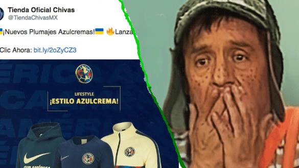 """¿Otro hackeo? La tienda de Chivas puso a la venta """"plumajes azulcremas"""" y Twitter explotó"""