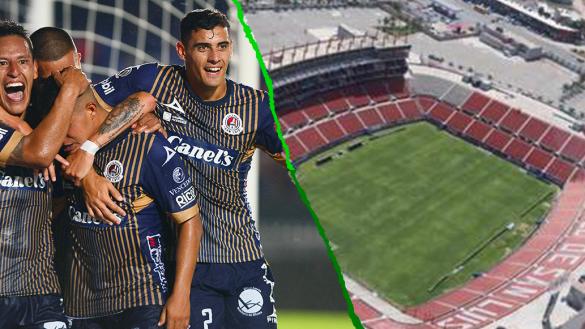 Las sedes que analiza el Atlético San Luis para el duelo ante el América
