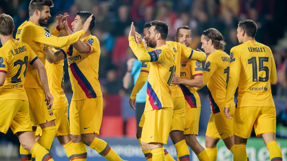 ¡D10S! Los 33 equipos a los que Messi le ha anotado en Champions League