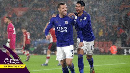 ¡Histórico! Acá te dejamos los 8 goles del Leicester City al Southampton