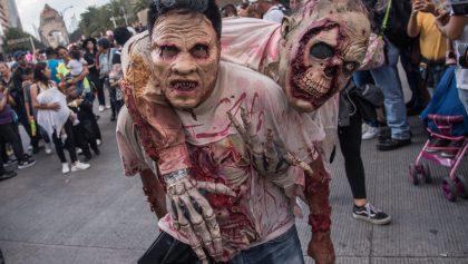 ¡Horror en la CDMX! Así se vivió la marcha zombie en la capital