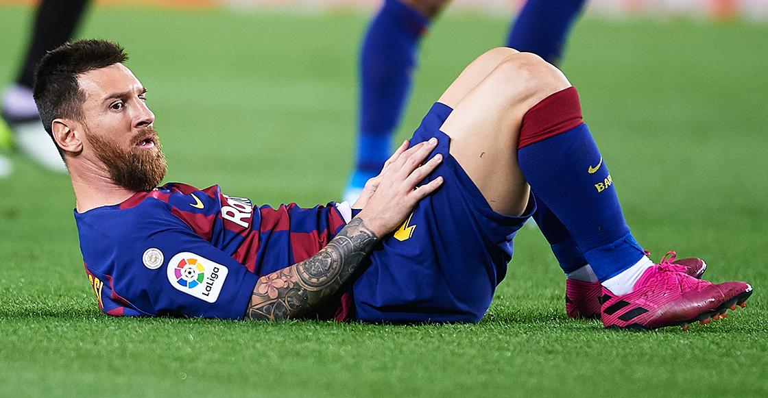 """Messi reveló que tuvo en la cabeza """"largarse"""" del Barcelona"""