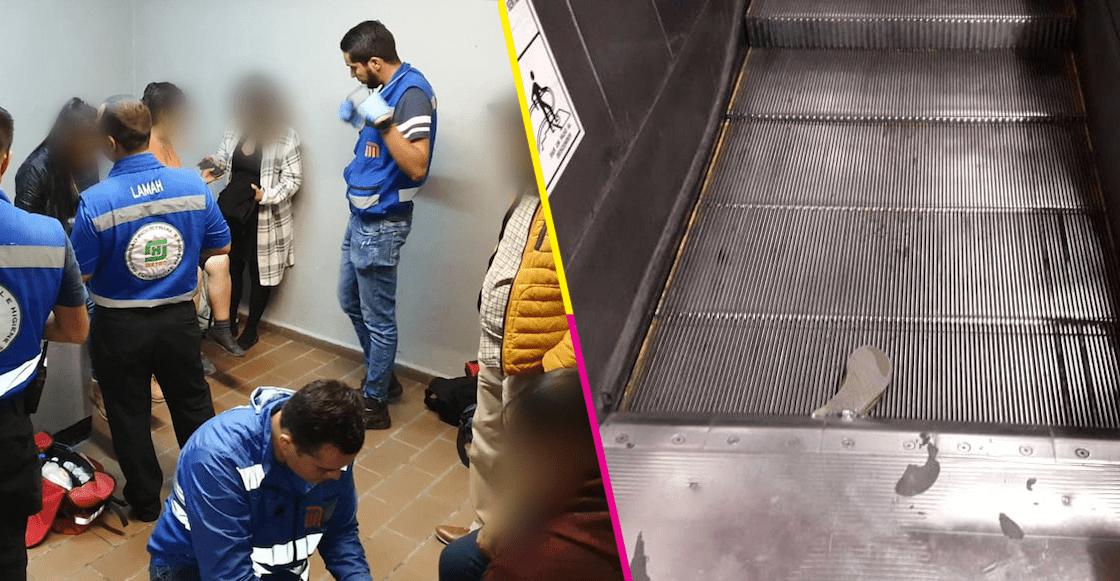 Y en la nota idiota del día: Pelea en las escaleras eléctricas provoca caída de usuarios del Metro