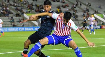 México y Paraguay empatan en su debut en el Mundial Sub-17 de Brasil