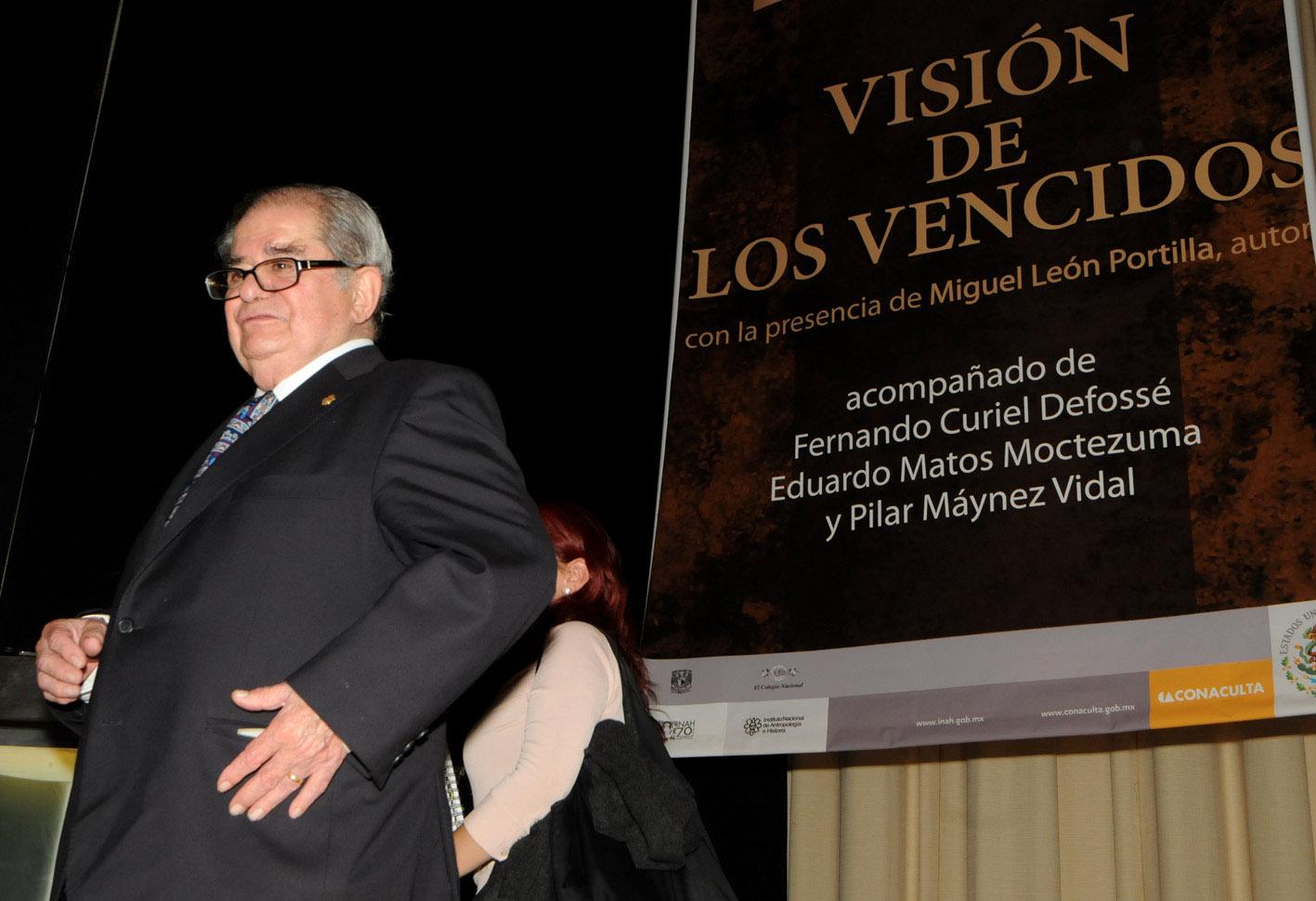 Murió el historiador Miguel León-Portilla a los 93 años de edad