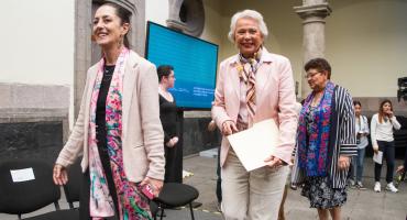 Sheinbaum, Sandoval o Albores: México está preparado para una mujer presidente, dice Sánchez Cordero