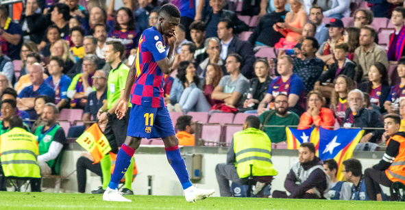 ¡Oficial! Ousmane Dembélé se perderá el Clásico ante el Real Madrid