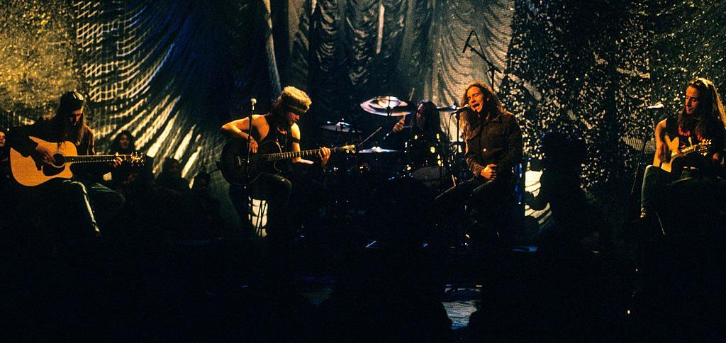 Pearl Jam lanzará en vinilo su concierto para MTV Unplugged del 92