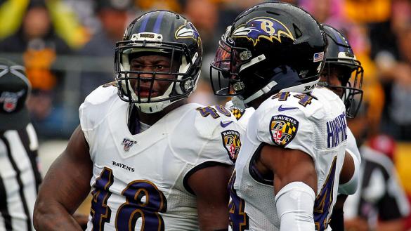 """Ravens se llevan el """"Clásico"""" con dramatismo y hundieron a los Steelers"""