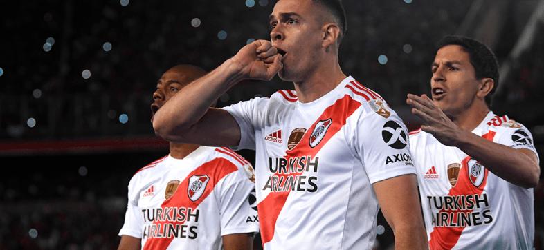 River pegó primero en las semifinal de la Copa Libertadores ante Boca Juniors