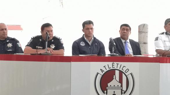 San Luis se disculpa con el Atlético de Madrid y dice que aceptará cualquier castigo