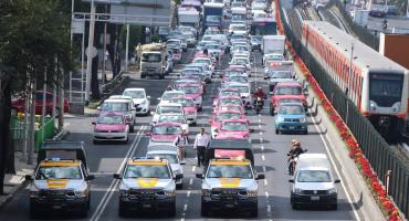 ¡Zaz! El Metro reportó 20% más pasajeros por marcha de taxistas