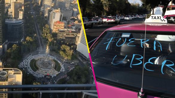 Taxistas-protestas-cdmx-fuera-uber