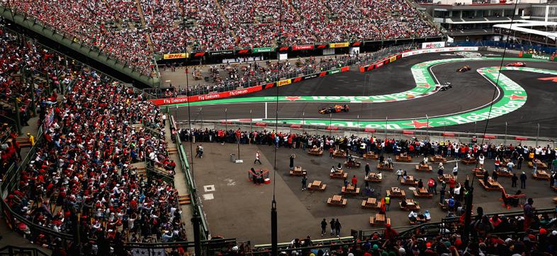 En sus marcas, listos... ¡Te llevamos a la Fan Zone del GP de México!