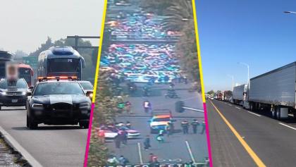 ¿Cómo va el paro nacional? Caravanas de transportistas llegan a CDMX; hay protestas en otros estados