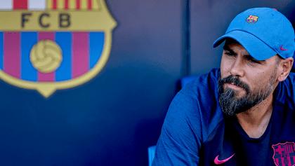 Víctor Valdés fue cesado como técnico del Juvenil A del Barcelona