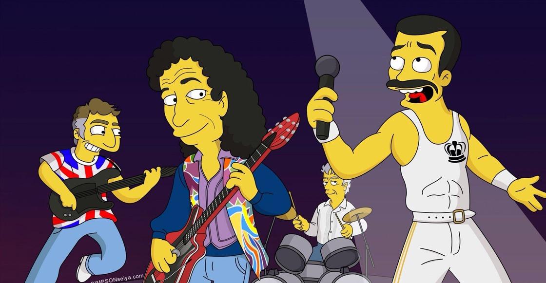 ¡Ojo aquí! Los Simpson recrean Live Aid de Queen para próximo capítulo