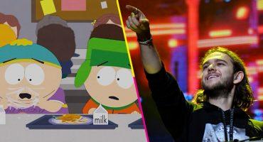 Continúa la censura en China: Vetan a Zedd por darle like a un capítulo de South Park