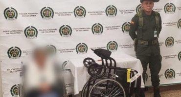De cuidado: Abuelita llevaba droga en silla de ruedas y la detienen en el aeropuerto