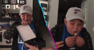 La sorpresa de los St. Lous Blues a una fan que pelea contra una enfermedad autoinmune