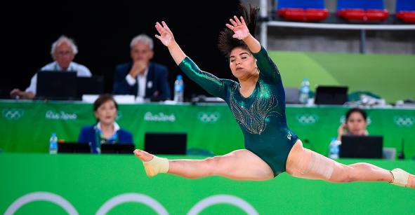 Alexa Moreno conquista plaza olímpica para México en gimnasia