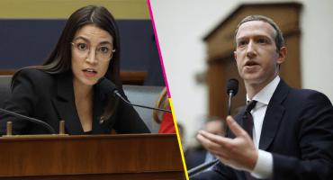 Alexandria Ocasio-Cortez tunde a Zuckerberg por desinformación política en Facebook