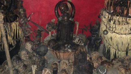 Son humanos los huesos de altar hallado en Tepito, confirman autoridades