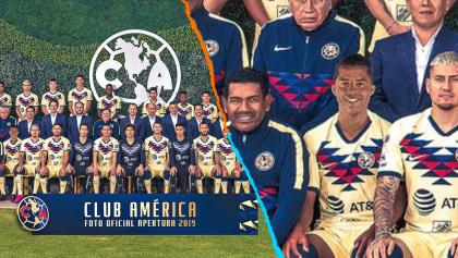 América se tomó la foto oficial con Giovani dos Santos en Photoshop y Twitter no perdonó