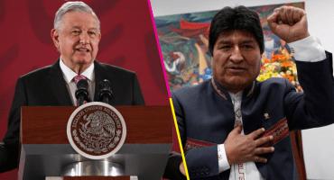 AMLO felicita a Evo Morales por su triunfo en