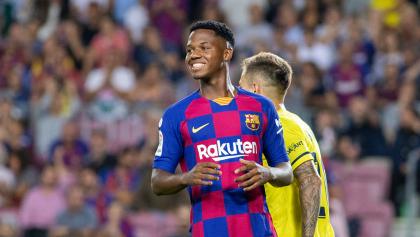 Ansu Fati recibe llamado con la Selección de España de último momento