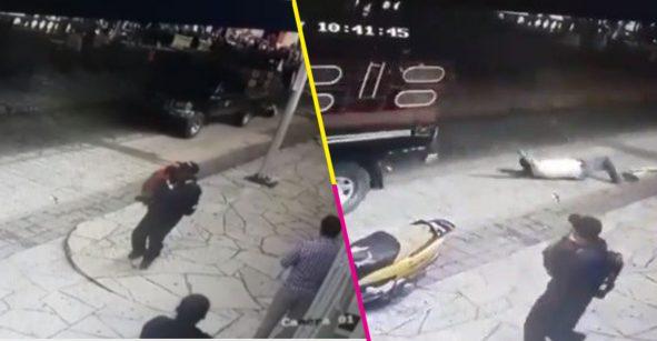 Campesinos arrastran con una camioneta a alcalde de Las Margaritas, Chiapas