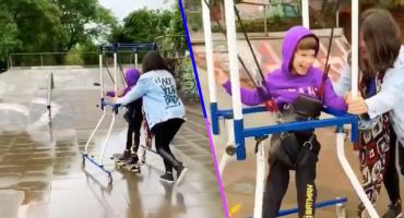 Él es João Vicente, el niño con parálisis cerebral que logró patinar y sorprender a Tony Hawk
