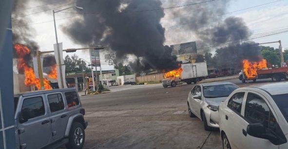 Balacera en Culiacan tras la detención del hijo del Chapo Guzman
