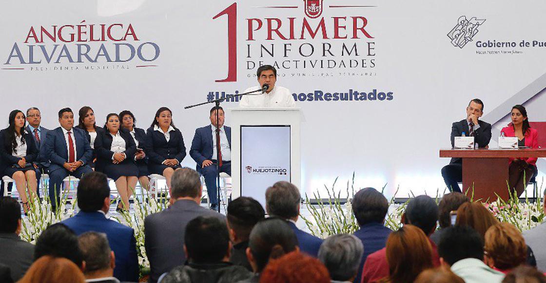 """Dice Barbosa que le robaron una vez las elecciones en Puebla pero """"Dios los castigó"""""""