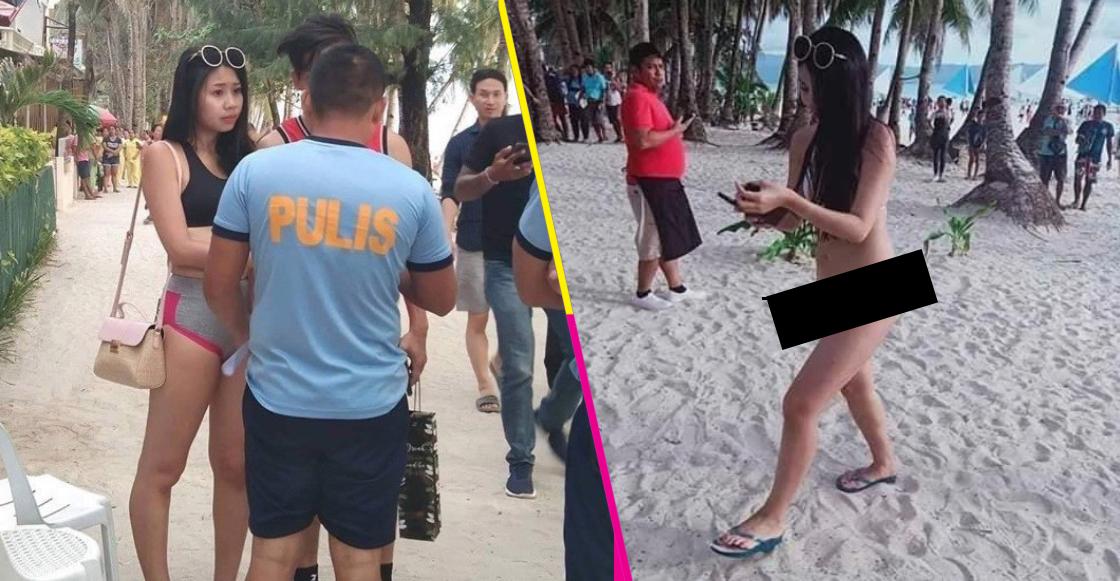 Historías del tercer mundo presentan: Arrestan a mujer en Filipinas por usar diminuto bikini